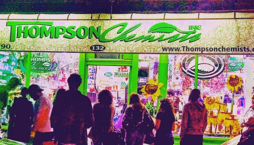 histroic Thompson Street
