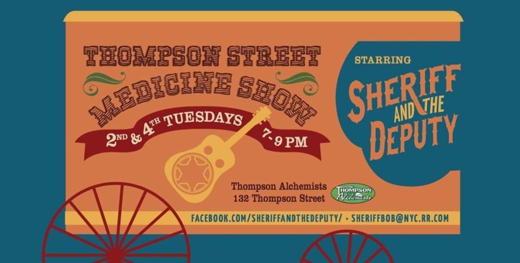 A Postcard for Thompson Street Medicine Show
